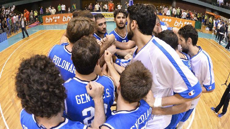 ( Per il Torneo di Trieste, seconda uscita per gli Azzurri, contrapposti alla Bosnia / Raisport 2 ore 20.20).