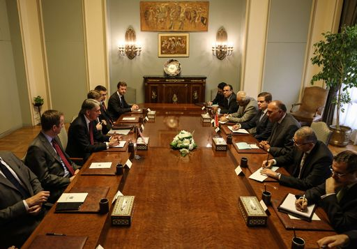 EGYPT-BRITAIN-ISRAEL-PALESTINIAN-GAZA-CONFLICT-DIPLOMACY