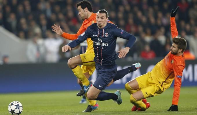( Big match in Champions con l'incontro tra Psg e Barcellona/ Sky Sport 2 ore 21.00).