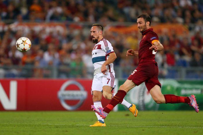 Anche per il subentrato Ribery, c'è gloria personale con la rete dell'1-6
