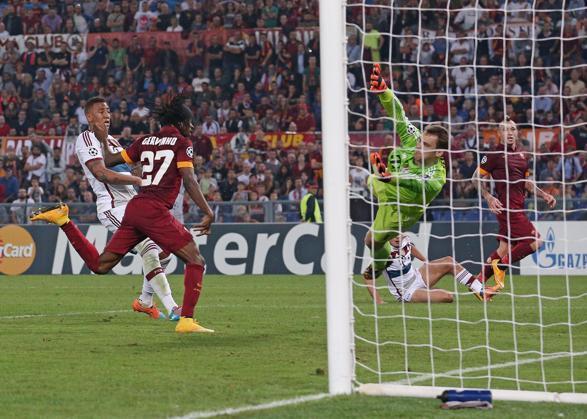Gervinho realizza il momentaneo 1-5