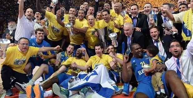 Il trionfo del Maccabi nella scorsa stagione