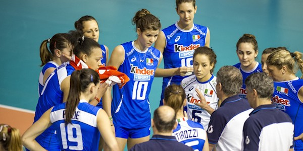( Azzurre in campo, in occasione dei Mondiali di volley, contro il Belgio / Raisport 1 ore 19.30)