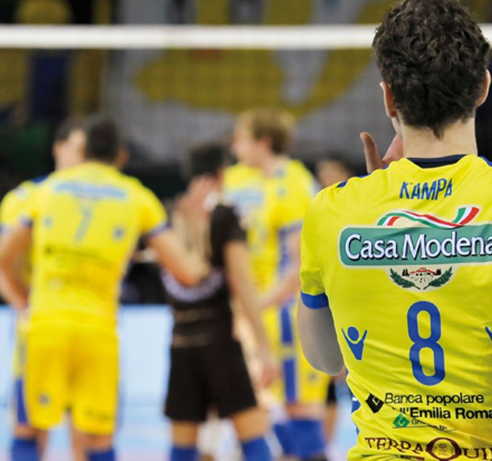 Per il volley Modena ospita  Perugia /Raisport 2 ore 17.30).