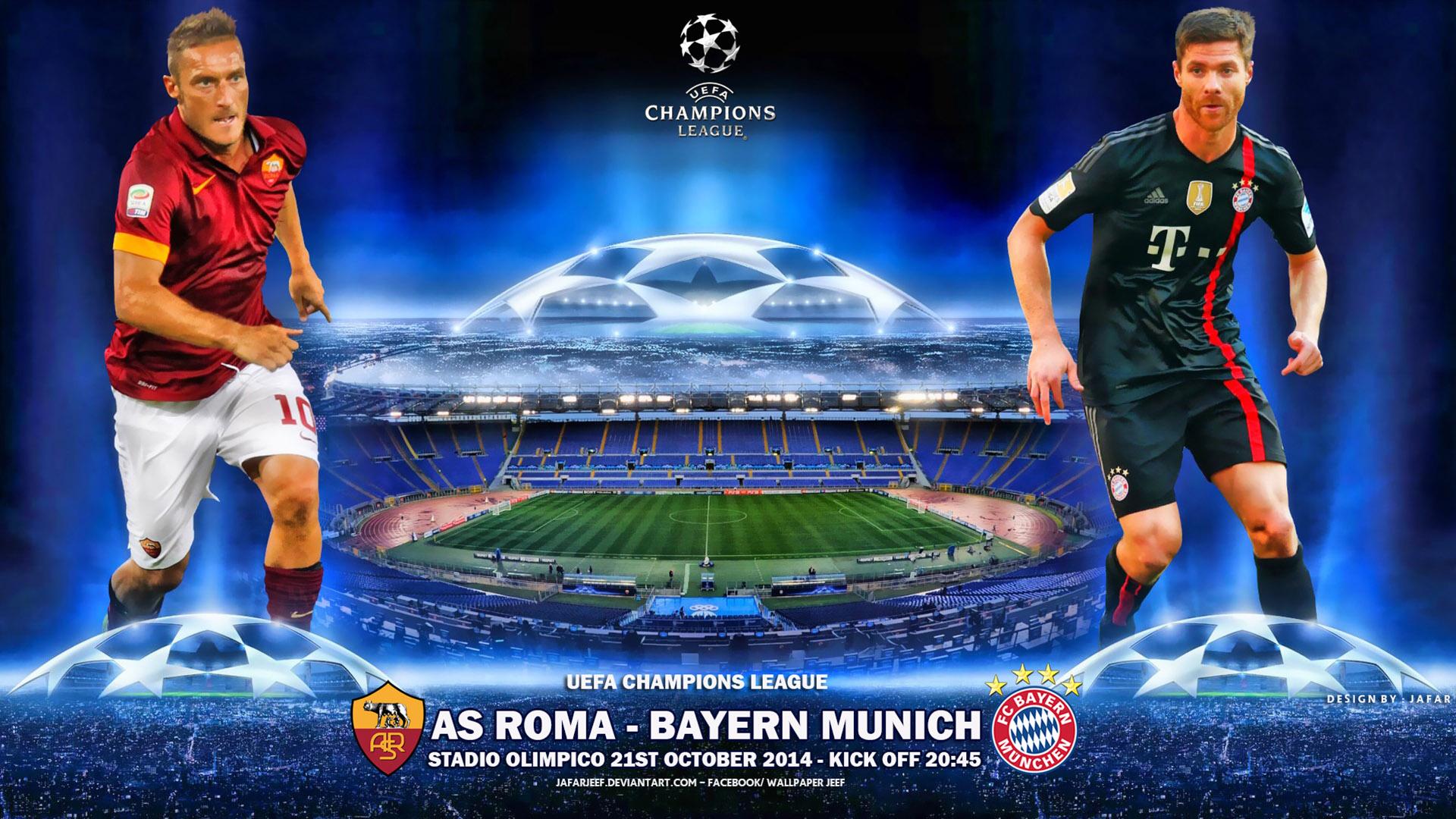 bayern roma champions league