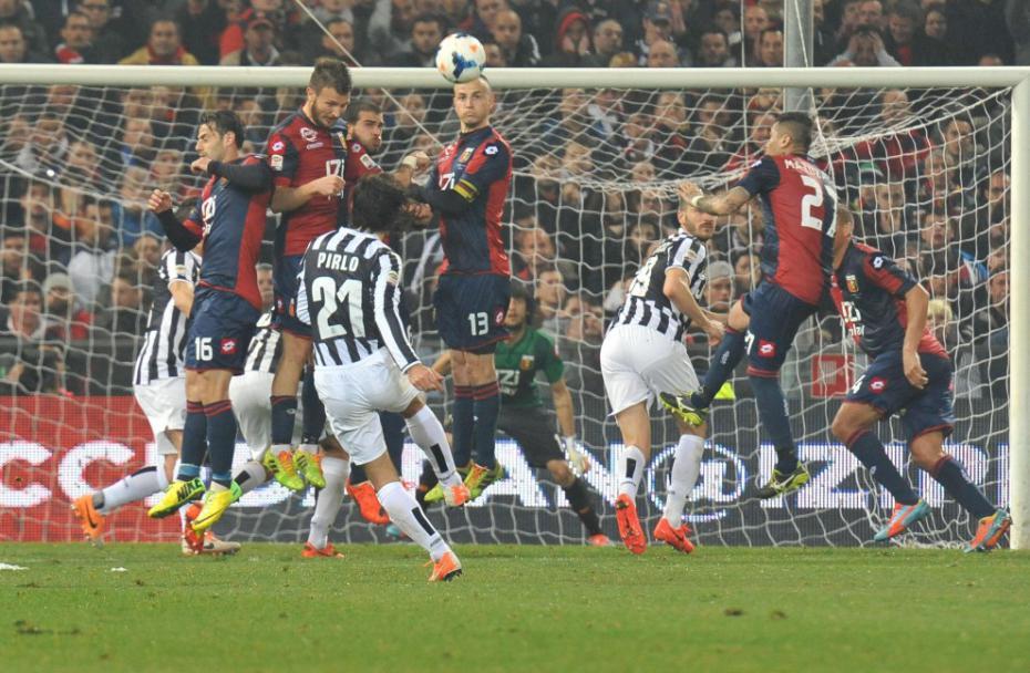 ( Bianconeri a caccia dell'ottava vittoria in casa del Genoa / Sky Sport 1 ore 20.30).