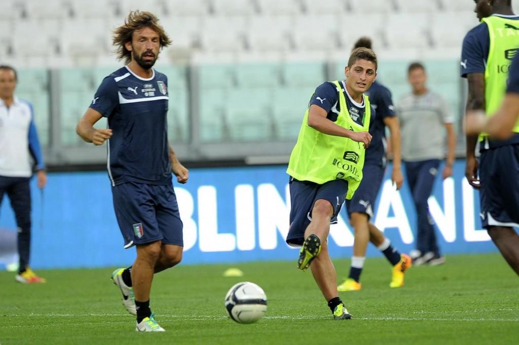 Allenamento Nazionale italiana di calcio allo Juventus Stadium