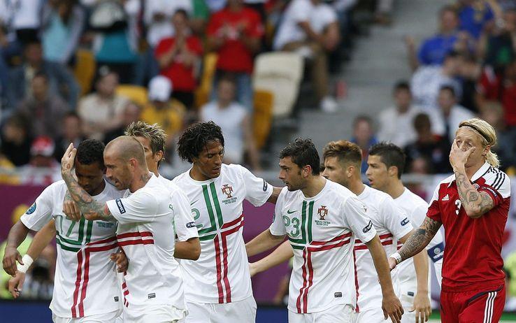 ( Per il gruppo I delle qualificazioni europee gara fondamentale tra Danimarca e Portogallo / Sky Sport 1 ore 20.30).