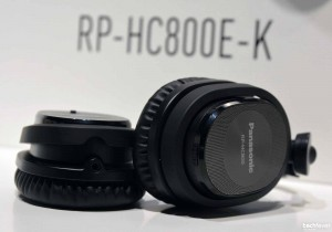 Panasonic RP HC800 Kopfhoerer Noise Cancellation aktive RauschunterdrŸckung - Panasonic Convention 2014