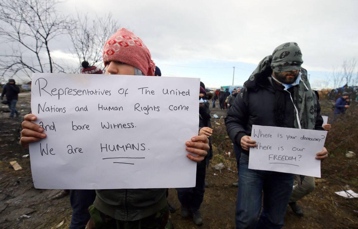 proteste calais