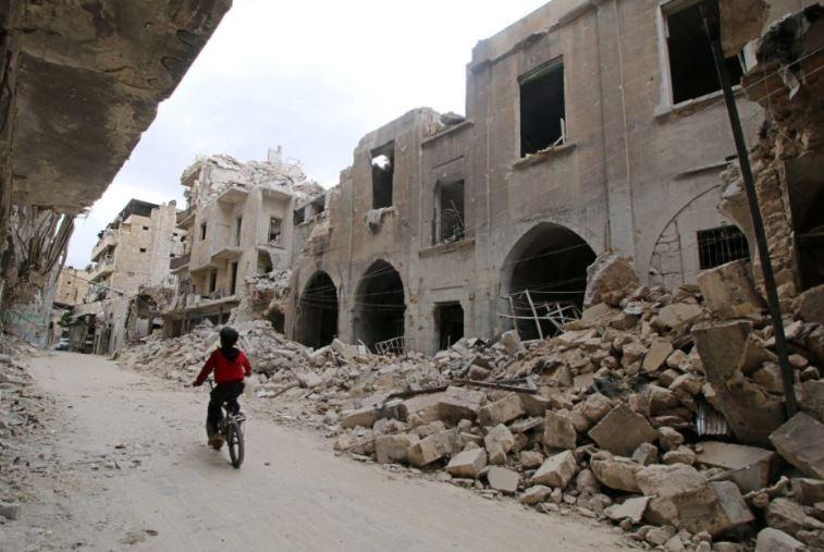 scontri villaggio sud aleppo