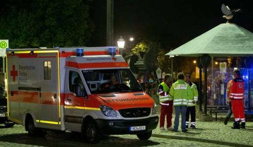 Germania: attentato ad Ansbach, muore l'attentatore e 12 persone restano ferite