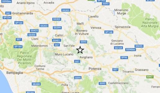 Scosse di terremoto nel corso della notte vicino a Potenza