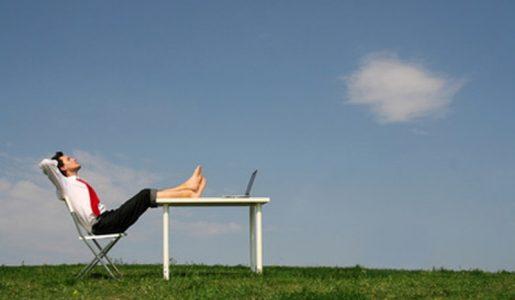 Vacanze: relax e un momento per pensare e ritrovare se stessi