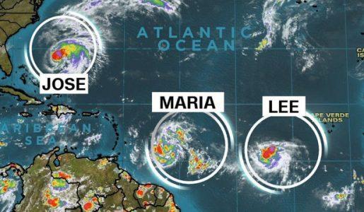 Caraibi: l'uragano Maria prossimo alla devastazione dopo Irma